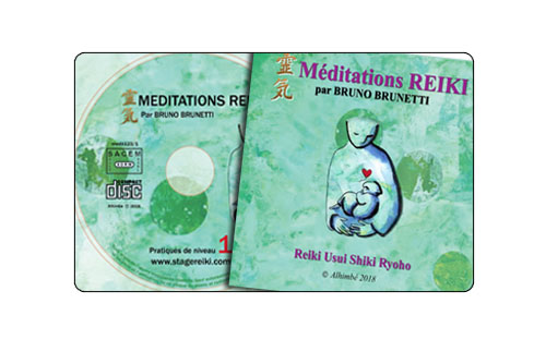 CD de pratiques Reiki 1